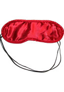 Sex And Mischief Satin Red Blindfold