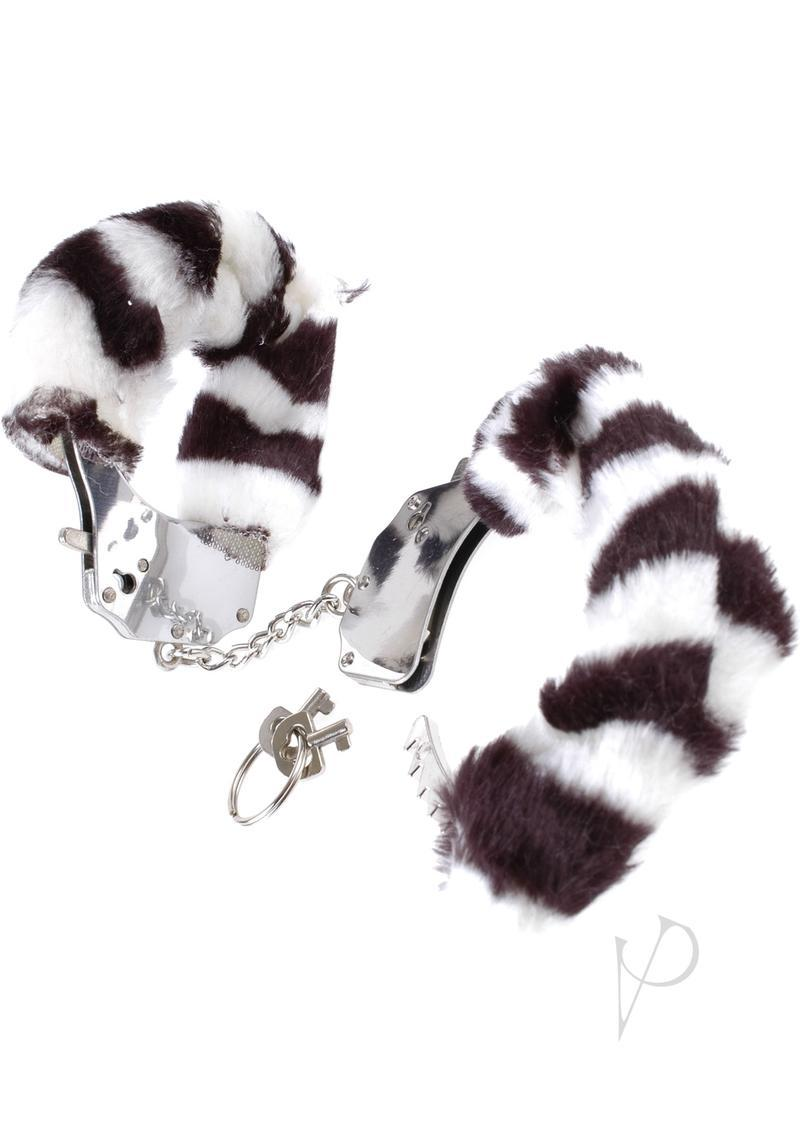 Fetish Fantasy Series Furry Cuffs Zebra